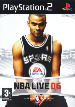 Jaquette de NBA Live 06 PlayStation 2