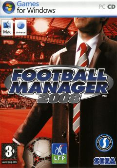 Jaquette de Football Manager 2008 Mac