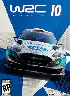 Jaquette de WRC 10 PS5