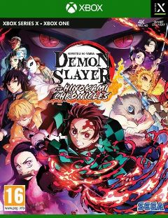 Jaquette de Demon Slayer - Kimetsu no Yaiba - The Hinokami Chronicles Xbox Series