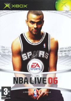 Jaquette de NBA Live 06 Xbox