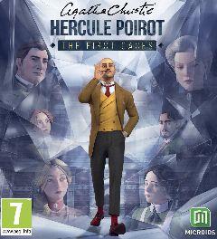 Jaquette de Agatha Christie Hercule Poirot The First Cases PC