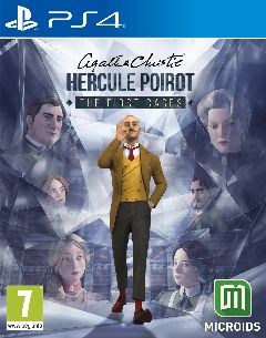 Jaquette de Agatha Christie Hercule Poirot The First Cases PS4