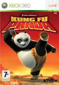 Jaquette de Kung Fu Panda Xbox 360