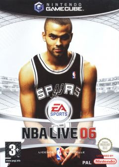 Jaquette de NBA Live 06 GameCube