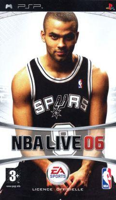 Jaquette de NBA Live 06 PSP