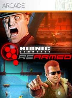 Jaquette de Bionic Commando Rearmed Xbox 360