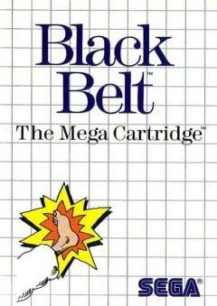 Jaquette de Black Belt Master System