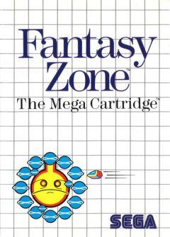 Jaquette de Fantasy Zone Master System