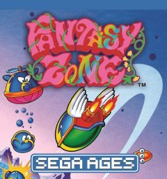 Jaquette de Fantasy Zone NES