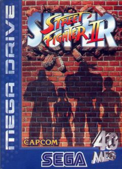 Jaquette de Super Street Fighter II Megadrive