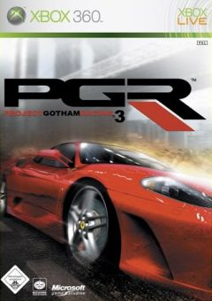 Jaquette de Project Gotham Racing 3 Xbox 360