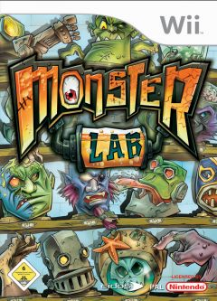 Jaquette de Monster Lab Wii