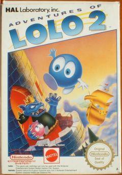 Jaquette de Adventures of Lolo 2 NES