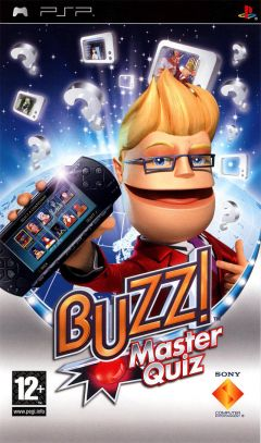 Jaquette de Buzz ! Master Quiz PSP