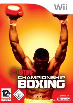 Jaquette de Showtime Championship Boxing Wii