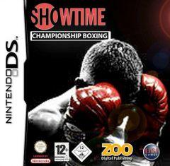 Jaquette de Showtime Championship Boxing DS