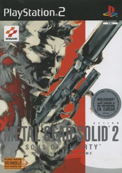 Jaquette de Metal Gear Solid 2 : Sons of Liberty PlayStation 2
