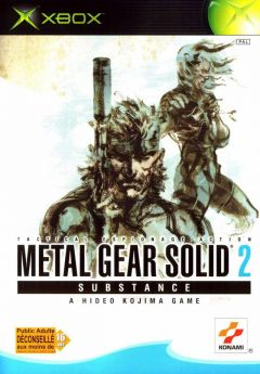 Metal Gear Solid 2 : Substance (Xbox)