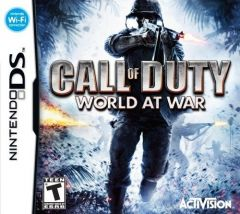 Jaquette de Call of Duty : World at War DS