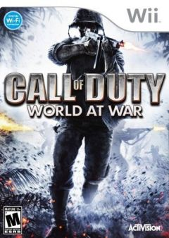 Jaquette de Call of Duty : World at War Wii