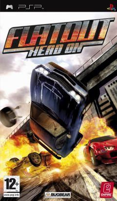 Jaquette de FlatOut : Head On PSP