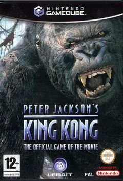Jaquette de King Kong GameCube