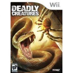 Jaquette de Deadly Creatures Wii