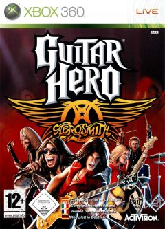 Jaquette de Guitar Hero : Aerosmith Xbox 360