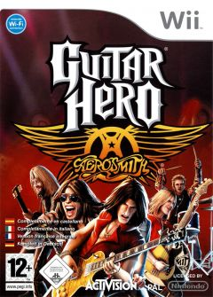 Jaquette de Guitar Hero : Aerosmith Wii