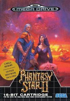 Jaquette de Phantasy Star II Megadrive