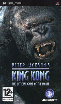 Jaquette de King Kong PSP