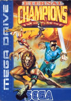 Jaquette de Eternal Champions Mega Drive