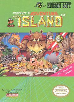 Jaquette de Adventure Island NES