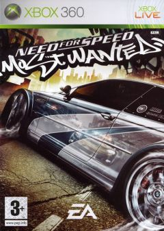 Jaquette de Need For Speed Most Wanted (original) Xbox 360