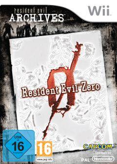 Jaquette de Resident Evil Zero Wii