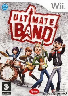 Jaquette de Ultimate Band Wii