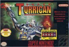Jaquette de Super Turrican Super NES
