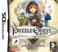 Jaquette de Puzzle Quest : Challenge of the Warlords DS