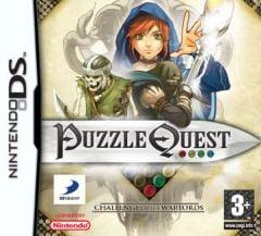 Jaquette de Puzzle Quest : Challenge of the Warlords DS