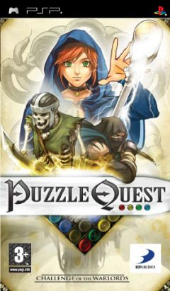 Jaquette de Puzzle Quest : Challenge of the Warlords PSP