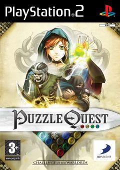 Jaquette de Puzzle Quest : Challenge of the Warlords PlayStation 2