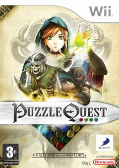 Jaquette de Puzzle Quest : Challenge of the Warlords Wii