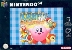 Jaquette de Kirby 64 : The Crystal Shards Nintendo 64