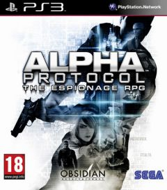 Jaquette de Alpha Protocol PlayStation 3