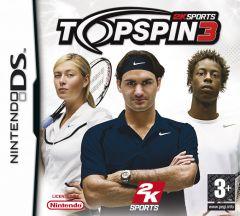 Jaquette de Top Spin 3 DS