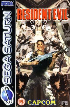 Jaquette de Resident Evil Sega Saturn