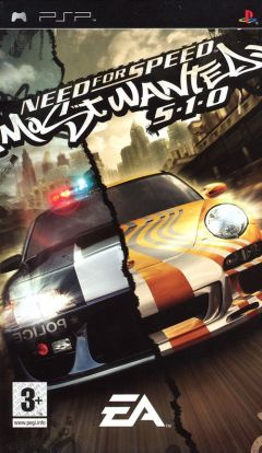 Jaquette de Need For Speed Most Wanted (original) PSP
