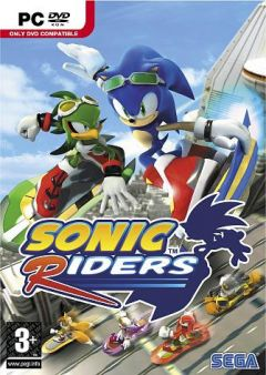 Jaquette de Sonic Riders PC
