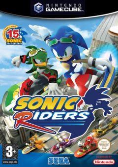 Jaquette de Sonic Riders GameCube